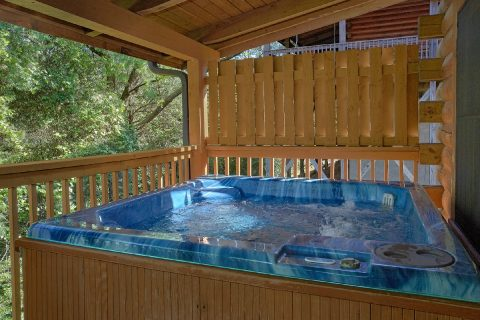 2 Bedroom Cabin with a Hot Tub - Cherokee Creekside