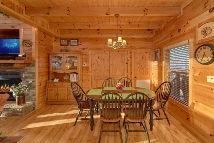 Dining Room Table with Extra Seating - Cherokee Hilltop
