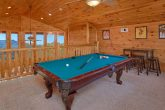 Pool Table 3 Bedroom Cabin Sleeps 11