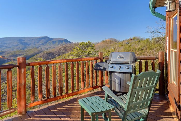 Out Door Cooking and Seating - Cherokee Hilltop