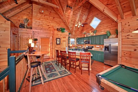 Gatlinburg Cabin with Great Main Level - City View Chalet
