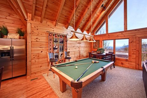 Play Pool with Great Views of the Smokies - City View Chalet