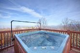 Outdoor Hot Tub in the Great Smoky Mountains
