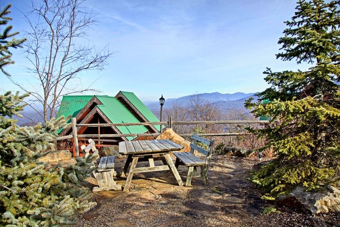 Cabin that has Access to Picnic in the Smokies - City View Chalet