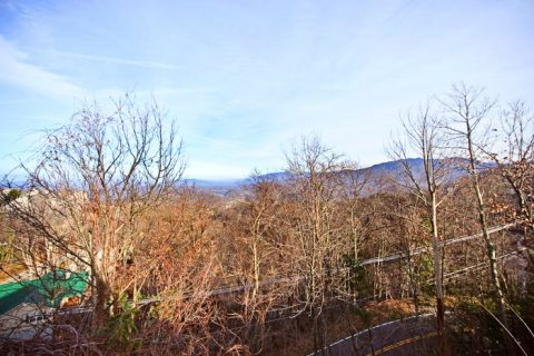 Great Smoky Mountain Cabin Rental - City View Chalet