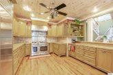 Spacious Kitchen in Luxury 4 bedroom cabin