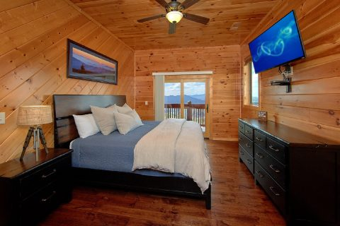 6 Bedroom Cabin with 6 King Beds and baths - Copper Ridge Lodge