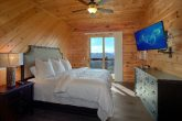 Luxurious Master Suite with King Bed and TV