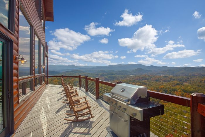 Premium 6 Bedroom Cabin with Mountain Views - Copper Ridge Lodge