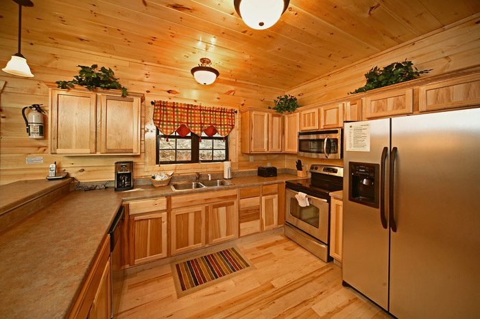 Spacious Kitchen with Stainless Steel Appliances - Could Not Ask For More
