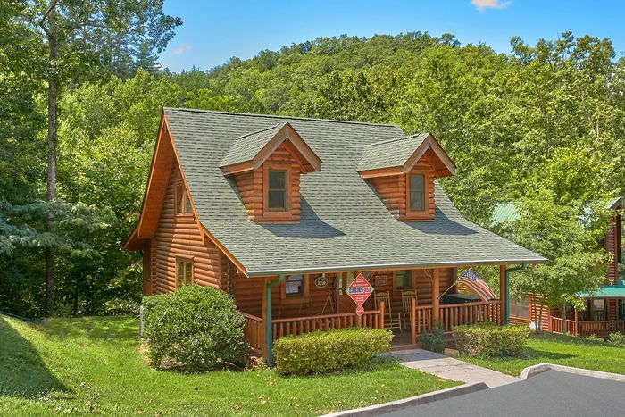 Creekside Hideaway Cabin Rental Photo