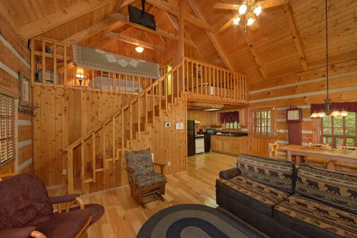 1 Bedroom Cabin in the Smoky Mountains - Cuddle Creek Cabin