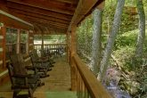Rustic 1 bedroom cabin overlooking a creek