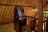 Affordable 1 Bedroom Cabin with Arcade Game