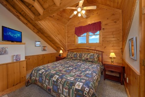 Affordable 2 Bedroom Cabin with King Bed - Dainty's Digs