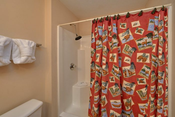 2 bedroom cabin with private master bathroom - Dancing Bears