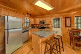 Full Kitchen in luxury cabin that sleeps 14