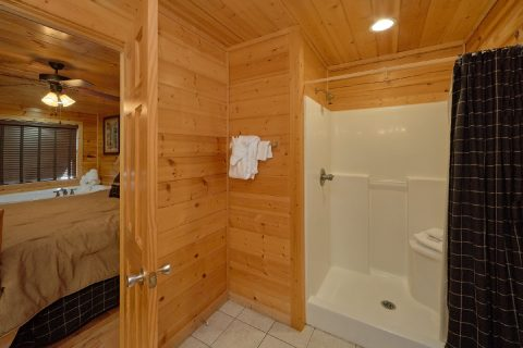 5 bedroom cabin with King bed and Bathroom - Deer To My Heart