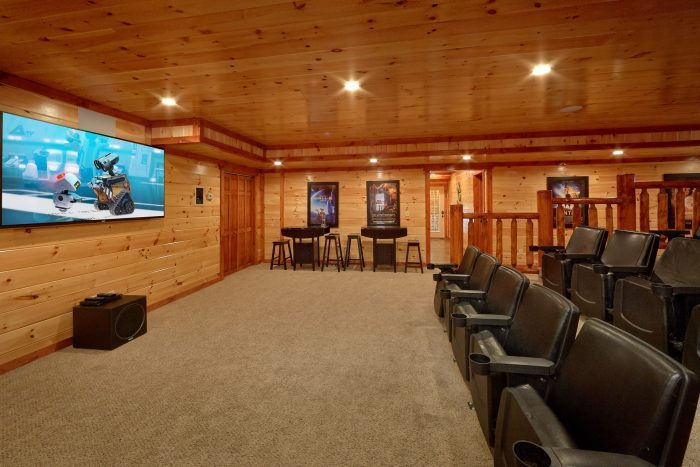 Premium 12 bedroom cabin with Theater Room - Dream Maker Lodge