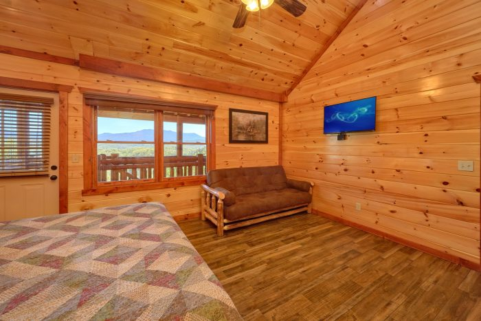 12 bedroom cabin with extra futon in each room - Dream Maker Lodge