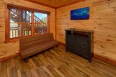 3 story cabin with 12 bedrooms and 16 baths