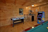 Luxury Cabin with Air Hockey Games and Arcade