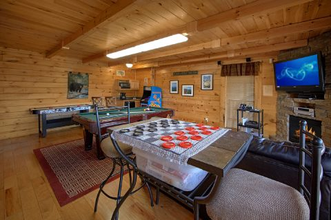 Premium Cabin with sleeper Sofa and Game Room - Dreamland