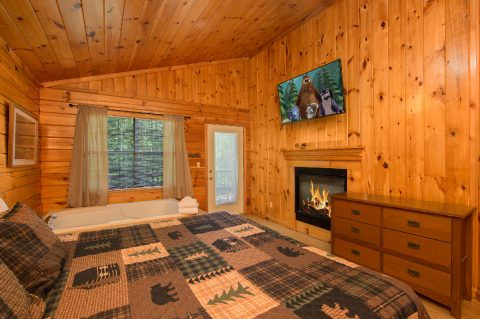 Cabin with private fireplace - Dreams Come True