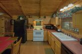 Fully furnished kitchen in 1 bedroom cabin