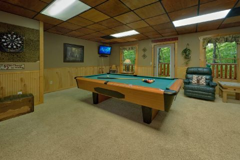 1 bedroom cabin with pool table and game room - Dreamweaver