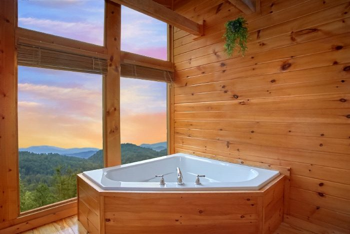 Cabin with Jacuzzi Tub and Mountain View - Eagle's Crest