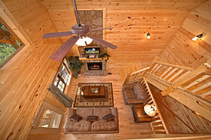 Cabin with Fully Furnished Open Floor Plan - Easy Like Sunday Morning