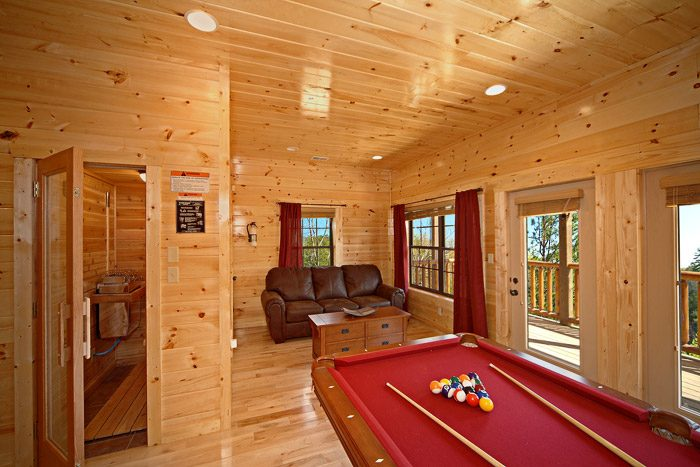 Cabin with Spacious Game Room - Easy Like Sunday Morning