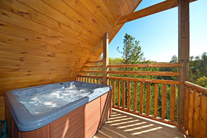 Hot Tub with Views on Top Deck - Easy Like Sunday Morning