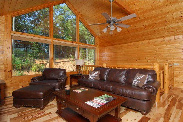 5 Bedroom Cabin Sleeps 14 with Leather Sleeper - Elkhorn Lodge