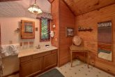 3 Bedroom 2 Bath Cabin Sleeps 10