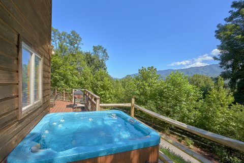 Views From Hot Tub 3 Bedroom Cabin - Emerald View