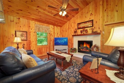 Luxury 1 Bedrom Cabin located in Pigeon Forge - Enchanted Evenings