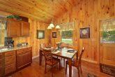 1 Bedroom Honeymoon Cabin with Dining Area