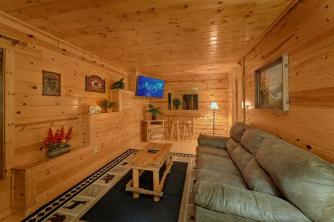 Lower Level Extra Seattign 2 Bedroom Cabin - Endless Joy