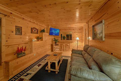 Lower Level Extra Seattign 2 Bedroom Cabin - Endless Joy
