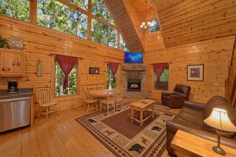 Sky Harbor Cabin with Furnished Living Room - Endless Joy