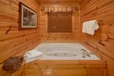 2 Bedroom Cabin Master Suite Jacuzzi Tub
