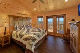 Spacious King Bedroom with Mountain Views