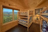 Group Size cabin with 2 sets of double bunk beds