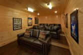 Theater room in Family Size 5 bedroom cabin