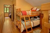 Cabin with 2 Twin Bunk Beds