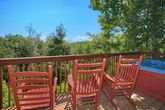 Pigeon Forge Cabin with Deck and Hot Tub