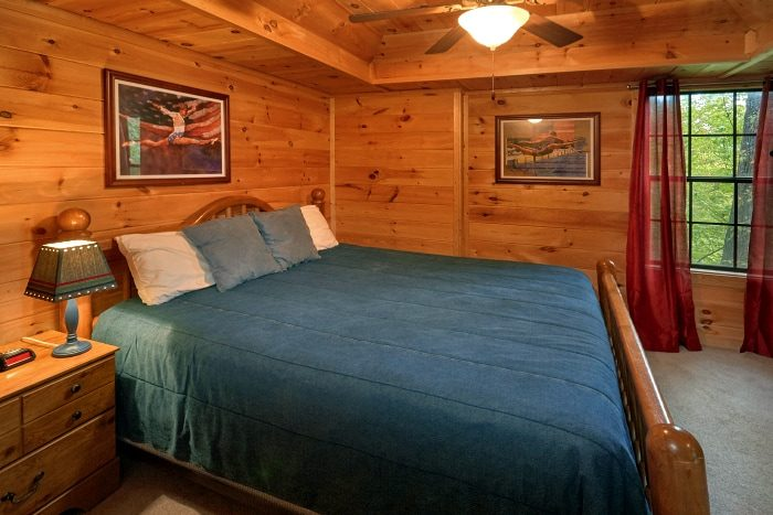 Premium Rental Cabin with 3 King Bedrooms - Fort Knoxx