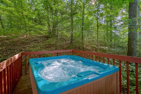 Private Hot Tub 2 Bedroom Cabin Sleeps 4 - Foxes Den